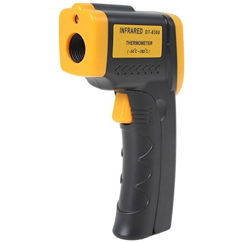 Infrared Thermometer, Magicoo Digital Non-contact Instant Read Temperature Gun -58°F ~ 716°F(-50℃~380℃) Emissivity 0.1-1.0, Laser Point IR Thermometer with LED Backlight