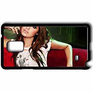 Personalized Samsung Note 4 Cell phone Case/Cover Skin Ashley Tisdale Black by icecream design