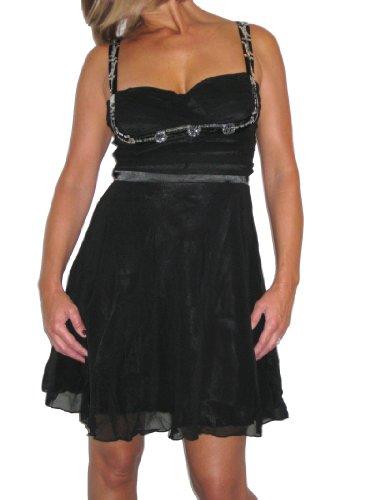 Kleid IceDamen Schwarz IceDamen Kleid 7wg6qxnC