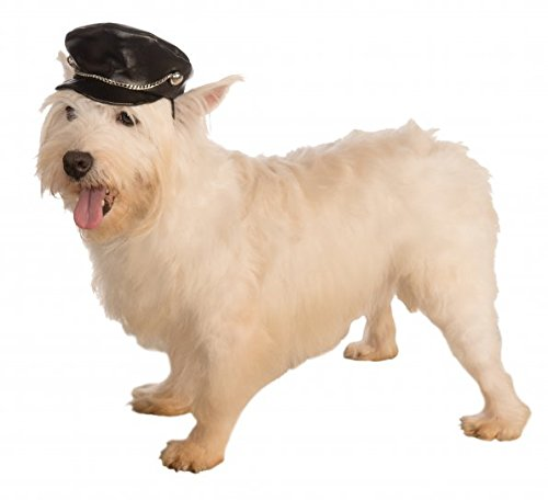 Rubies Costume Company Biker Hat Pet Costume Accessory, Small to Medium Biker Dog Dog Costume