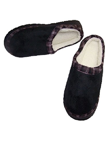 Black Foam Out Check It Memory Large Unisex Slipper Avon BqWgCSzvn