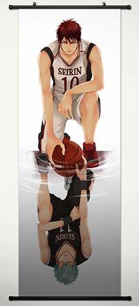 Kuroko No Basket Wall Scroll Poster Fabric Painting For Anime Kagami Taiga & Kuroko Tetsuya 014