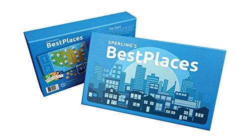 Best Places Board Game by Sperling's BestPlaces