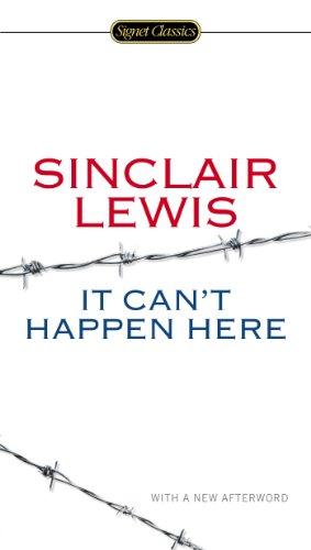 It Can'T Happen Here (Signet Classics) 2