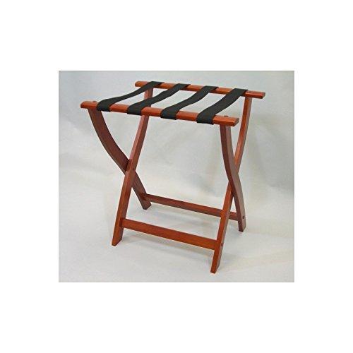 VidaNaticle Cherry Luggage Rack, solid wood - Cherry Luggage Rack