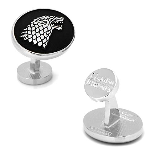 Cufflinks Game of Thrones House Stark, Officially Licensed ()