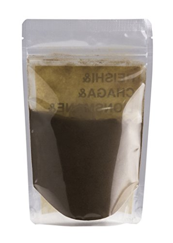 Mushroom Heaven Mushroom Extract Powder – Reishi, Chaga, Lions Mane and Cordyceps Extract – 150g 75 servings