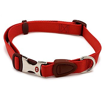 Petmate Signature Series 1-Inch by 18-26-Inch Adjustable Collar, Autumn Red, My Pet Supplies