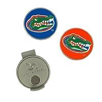 Equipo Effort Florida Gators Clip de sombrero y 2 marcadores de bolas