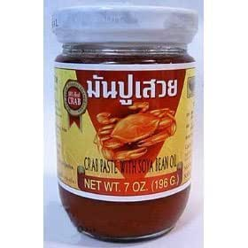 Amazon.com : Por Kwan Pad Thai Crab Paste with Bean Oil