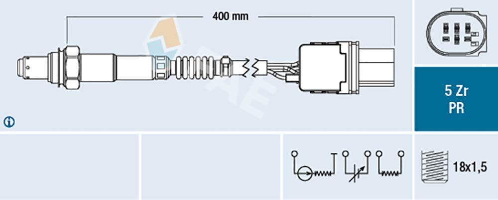 FAE 75061 sonde lambda