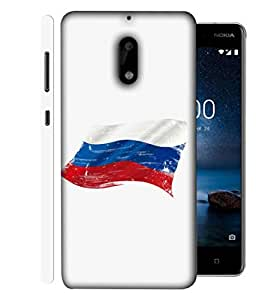ColorKing Football Russia 06 White shell case cover for Nokia 9
