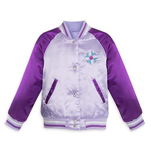 Disney Frozen Varsity Jacket for Girls - Size 3 Purple -