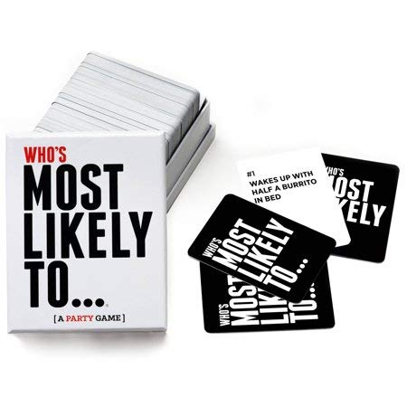 (Whos Most Likely to... A Party Game - NEW)