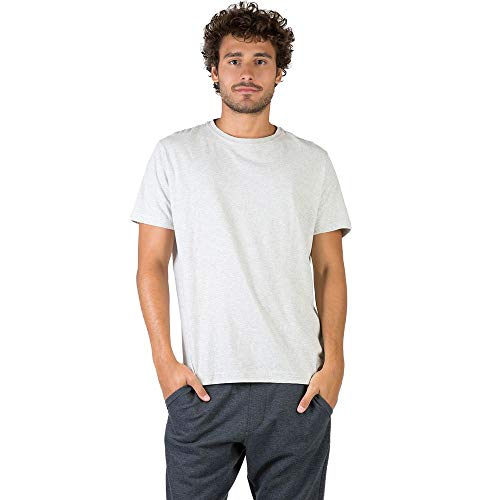 T-Shirt Básica Mescla Comfort Cru CRU/M