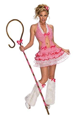 Fancy Playboy Shepherdess Little Bo Peep Adult Costume Small (Bo Peep Wig)