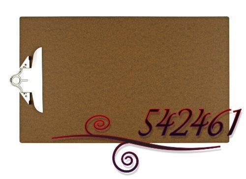 - 11X17 Hardboard Clipboard with 6