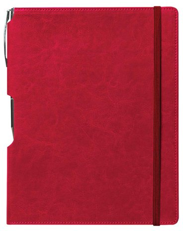 Rhythm Journal with Free Pen: Red, Medium 10 pcs sku# 1796334MA by Unknown (Image #1)