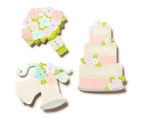 Asst Magnets - Embellish Your Story Wedding Day Magnets Set of 3 Asst. - Magnets Photo Frame Embellish E00022EYS