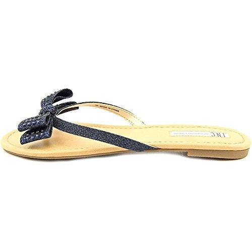 Inc International Concepts Womens Malissa Open Toe Casual  Blue  Size 10 0