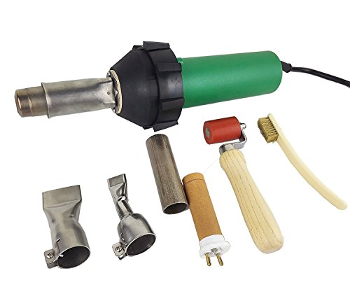 JIADING Professional 1600W Hot Air Gun PVC Heat Gun Hand Held Plastic Welder heating gun by JIADING