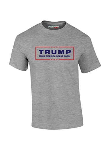Donald Trump For President 2016 T-Shirt Make America Great Again 100% Cotton