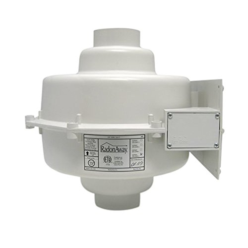 RadonAway 23005-1 GP501 Radon Mitigation Fan, 3
