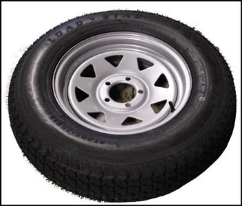 ST205/75 D15 Triton 08056 Class C Trailer Tire by Triton