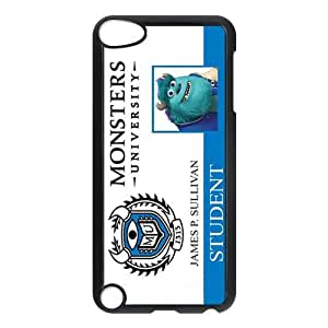 SevenArc Funny Monsters University Student ID for IPod Touch 5th Durable Plastic Case-Creative New Life