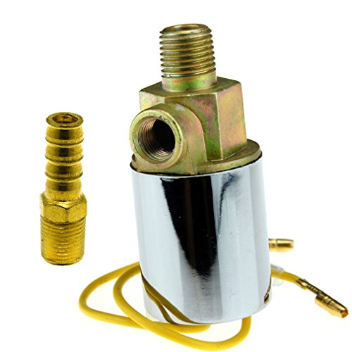 "1/4"" Chromed Universal 12/24V Car Van Truck Air Horn Electric Solenoid Valve New for sale"