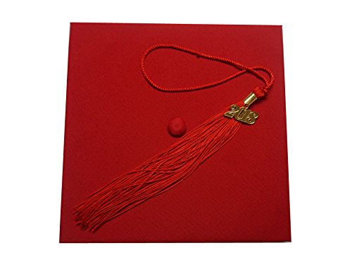Which is the best graduation cap red 2019?