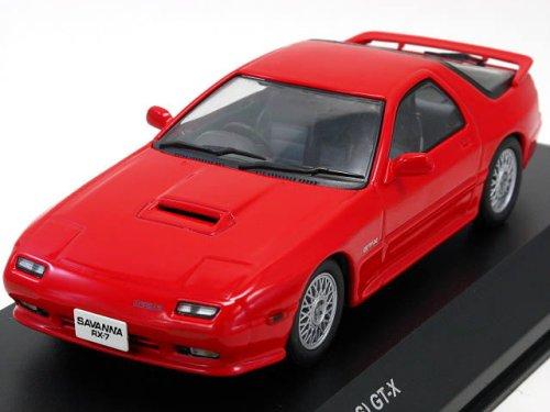 1/43 マツダサバンナ RX-7(FC3S)後期型 ブレイズレッド 「ダイキャストモデルシリーズ」 K03301R