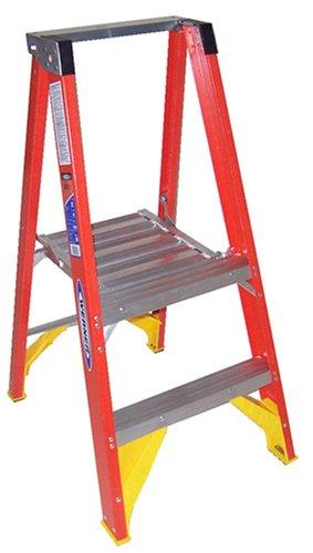 Excellent Werner P6202 Platform Stepladder 2 Ft Fgl 300 Lb Beatyapartments Chair Design Images Beatyapartmentscom