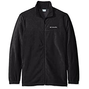 Columbia Men's Big Steens Mountain Full Zip 2.0 Fleece Jacket, Black, 4X