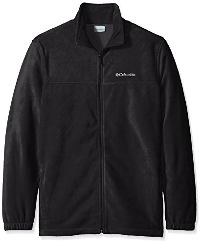 Columbia Men's Tall Steens Mountain Full Zip 2.0 Fleece Jacket, Black, X-Large/Tall by Columbia