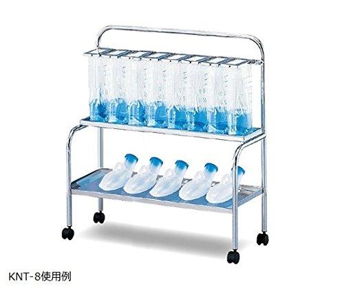 ナビス(アズワン)0-9947-03貯尿架台[尿器用棚付]KNT-88人用 B07BD2KF5S