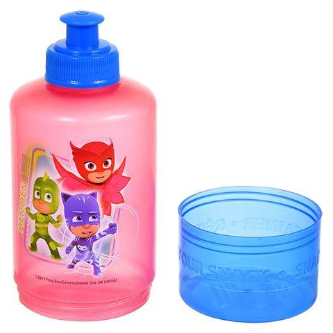 Amazon.com : Pj Masks BPA Free 1 Snack Water Bottle, 1 Sandwich Box, 1 Snack Container by Zak Designs Bundle Set : Baby