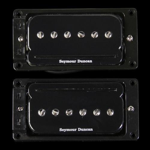 - Seymour Duncan 11303-03-B1 P-Rails with LP Triple Shot Set (Arched Top) - Black