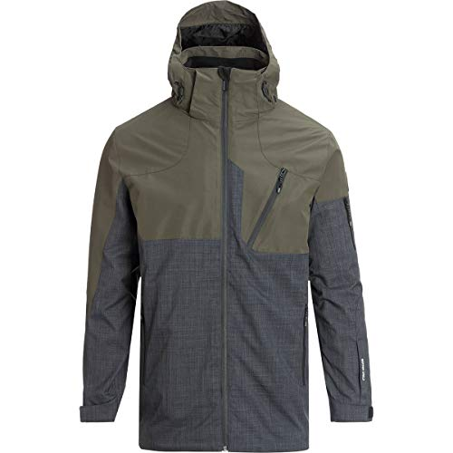 Avalanche Swift System Jacket - Men's Olive/Heather Charcoal, L