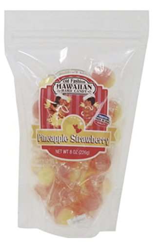 (Strawberry-Pineapple Old Fashion Hard Candy Hawaii)
