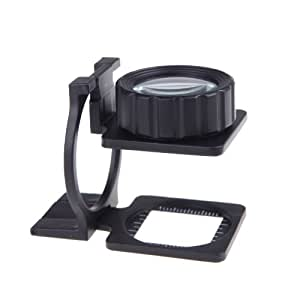 Rosbane(TM)Foldable Desktop Magnifier Stand Measure Scale Loupe Magnifying Glass Portable Loupe lupa Magnifying Glasses loupes 20X