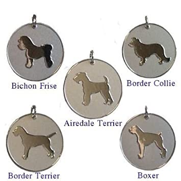 Personalised dog pet identity id tag disc engraved leave personalised dog pet identity id tag disc engraved sciox Choice Image