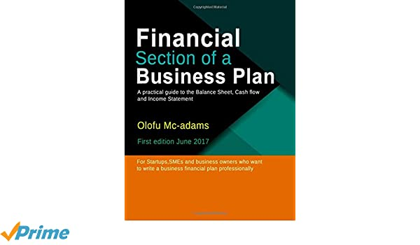 Amazon.com: Financial Section of a Business Plan (9781521897218 ...