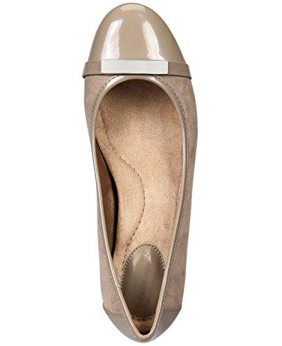 Giani Bernini Women's Ambir Wedge Heels Mushroom AchgNcJj