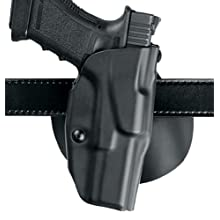 Safariland S and W M and P 9-mm, 40 4.4-Inch Barrel 6378 ALS Concealment Paddle Holster, Plain Black, Left Handed