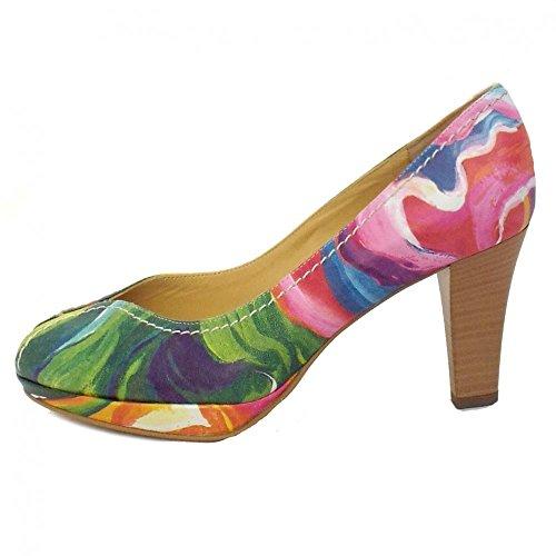 Peter Kaiser Servita Damas Abran Zapatos En Color Multi Multi Colo