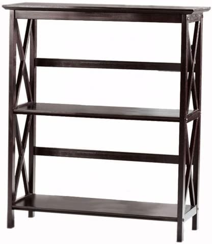 Home Decorators Collection Montego 2 Shelf Bookcase, Low, Espresso