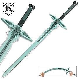 41″ SAO Sword Art Online Kirito Kirigaya Kazuto Dark Repulser Fantasy Anime Manga Foam Cosplay Sword Halloween Xmas