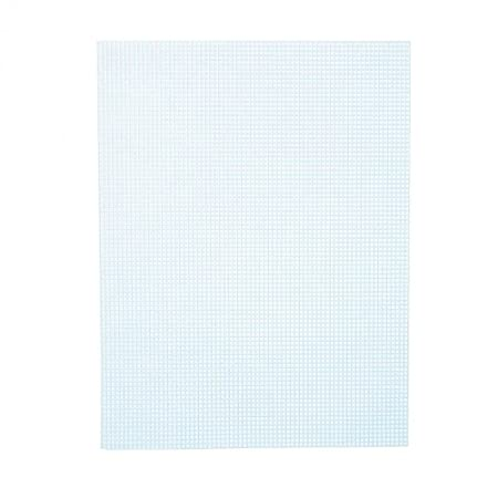 Plastic Canvas 7  10X13-Light Blue, Pack of 12