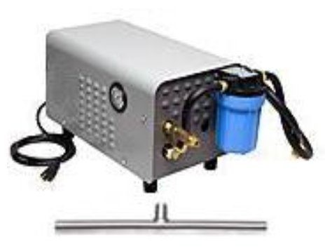 30' Stainless Steel High Pressure Enclosed Stainless Steel Misting System Kit by Advanced Systems